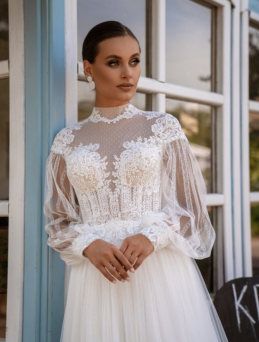 Весільна сукня в стилі бохо-10