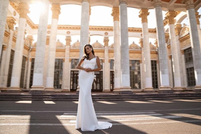 Rochie de mireasă de siluetă stil sirenă-5