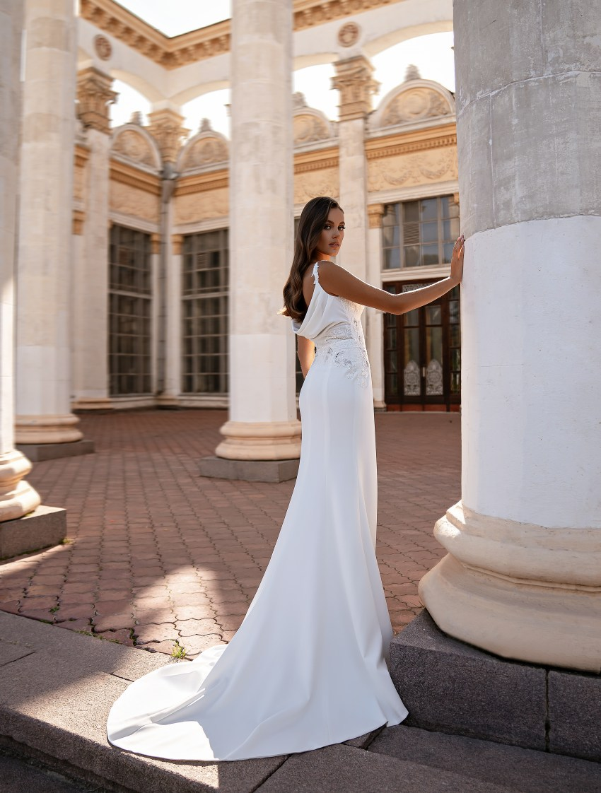 Rochie de mireasă de siluetă stil sirenă-6