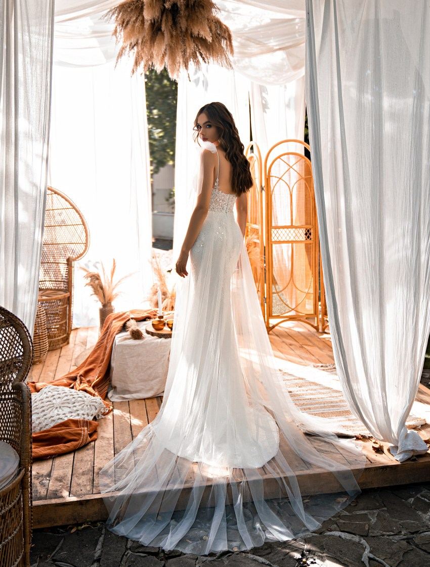 Платье силуэта «годе»-8