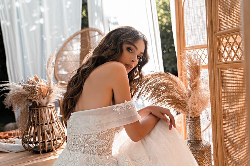 Rochie de mireasă uimitoare stil prițesă-6