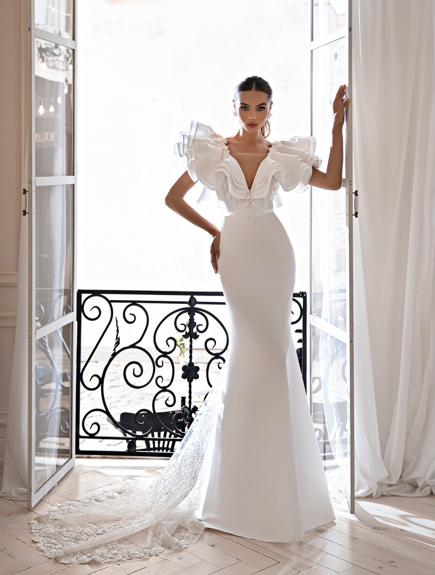 Весільна сукня силуету годе-7