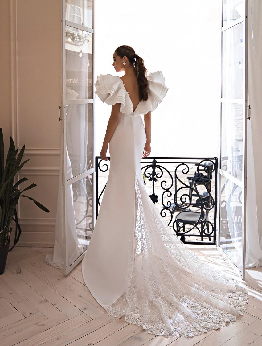 Весільна сукня силуету годе-8