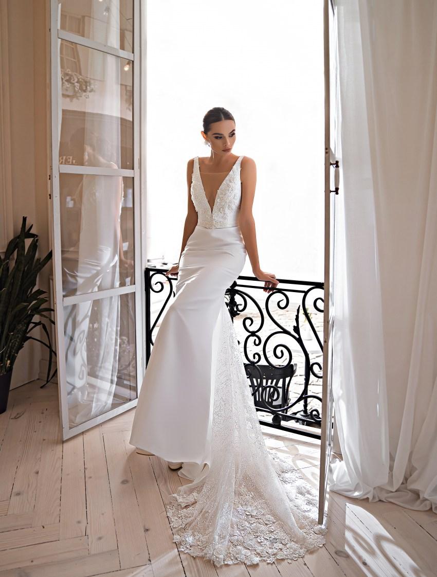 Rochie de mireasă cu siluetă tip sirenă-9