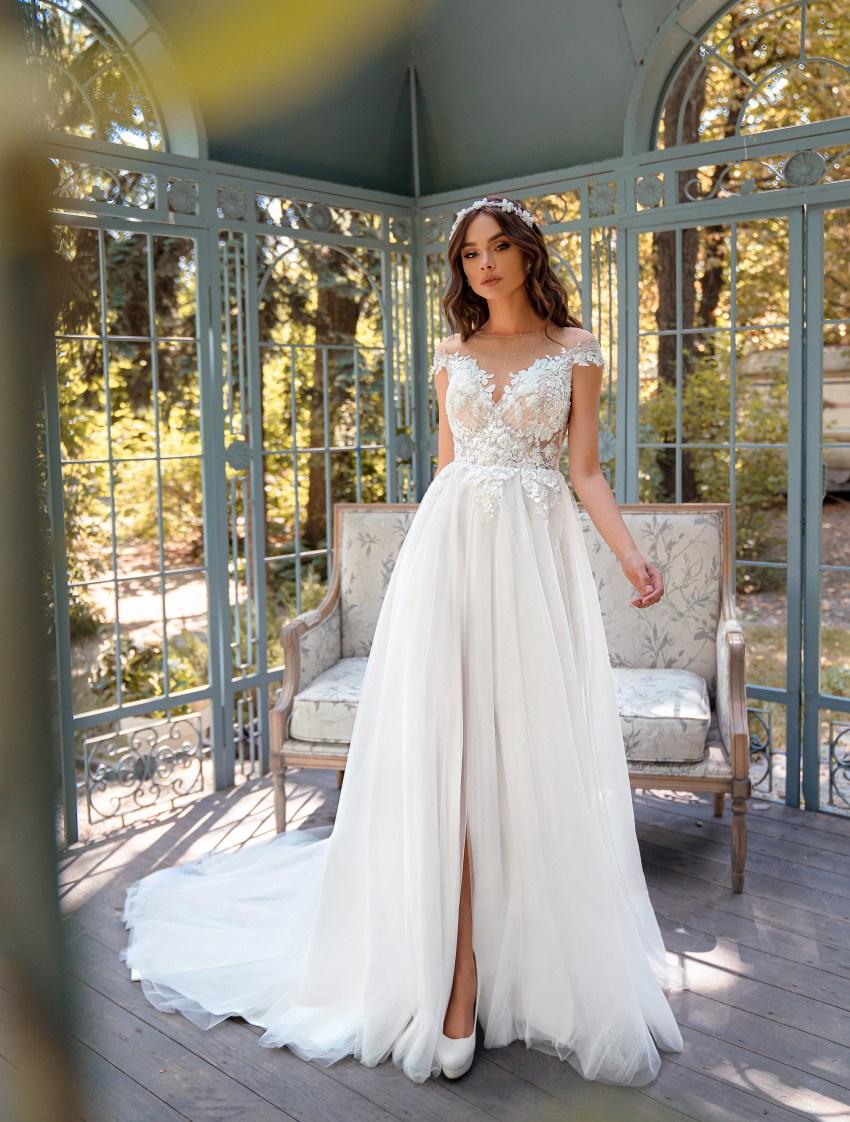Свадебное платье «А»-силуэта-4