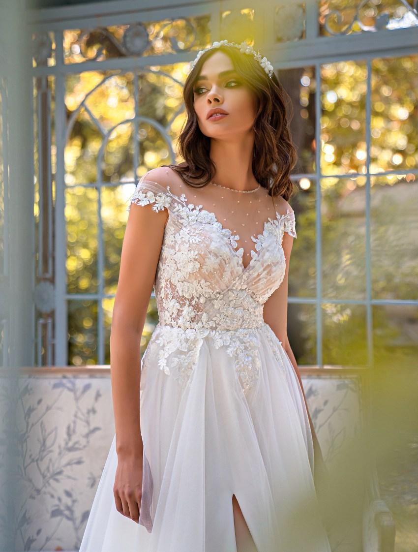 Свадебное платье «А»-силуэта-6