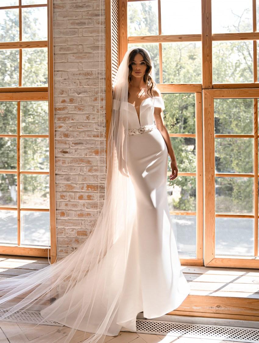 Свадебное платье минимализм-7