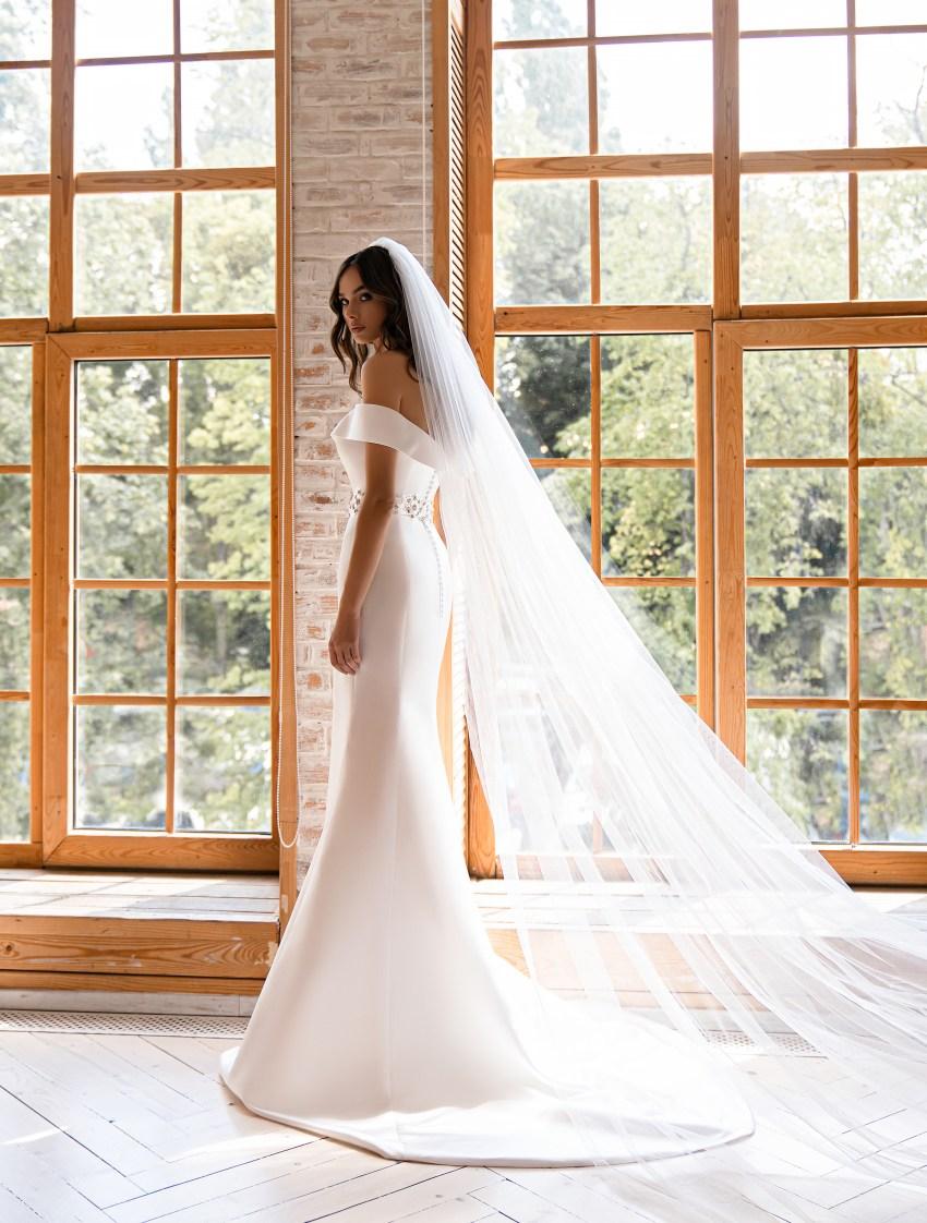 Свадебное платье минимализм-8