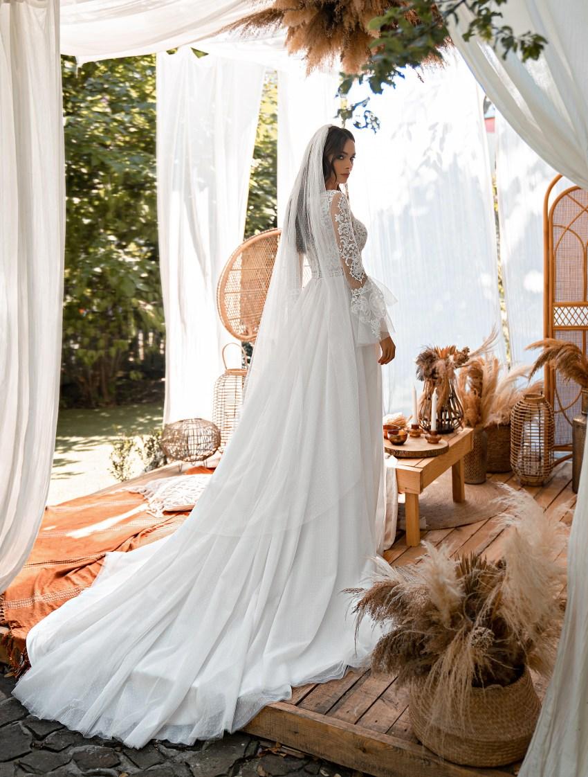 """Свадебное платье в стиле """"бохо""""-6"""