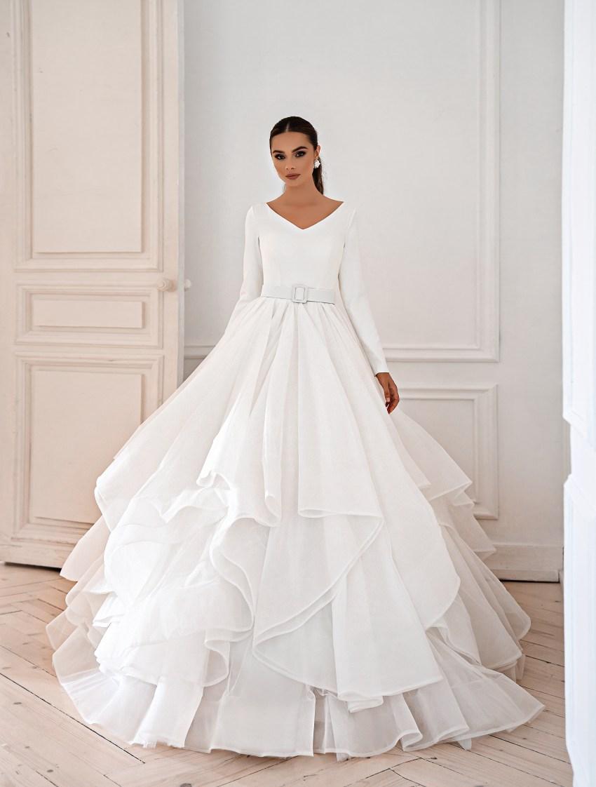Rochie elegantă minimalistă-4