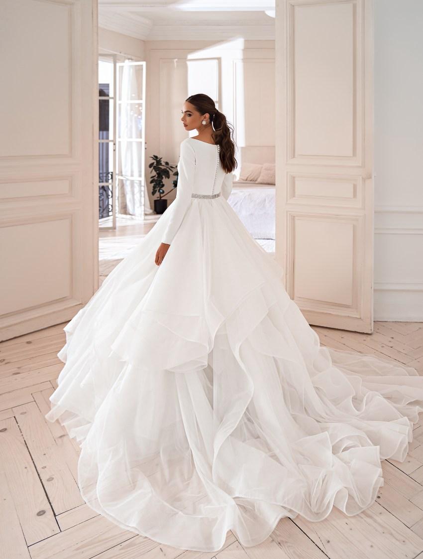 Rochie elegantă minimalistă-5