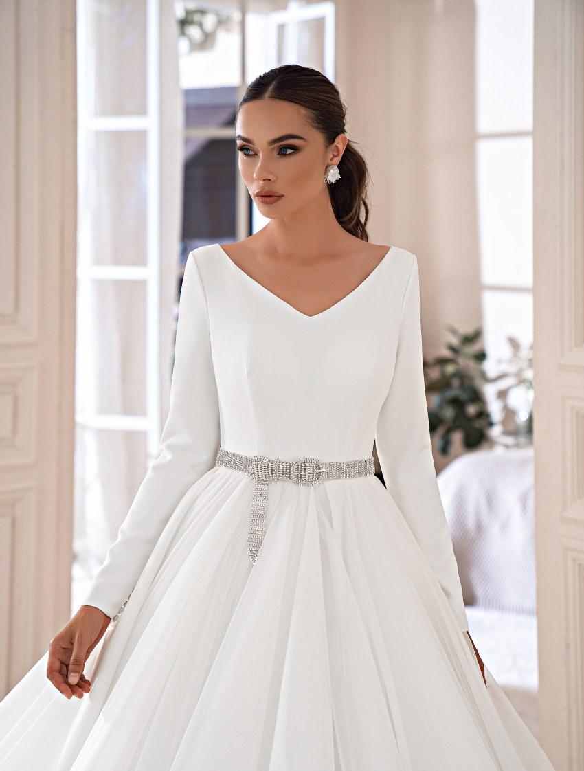 Rochie elegantă minimalistă-6