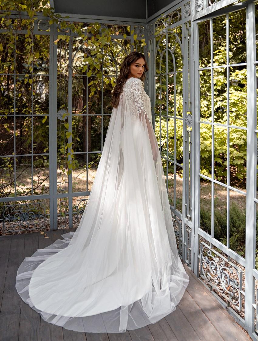 Свадебное платье силуэта «годе»-7