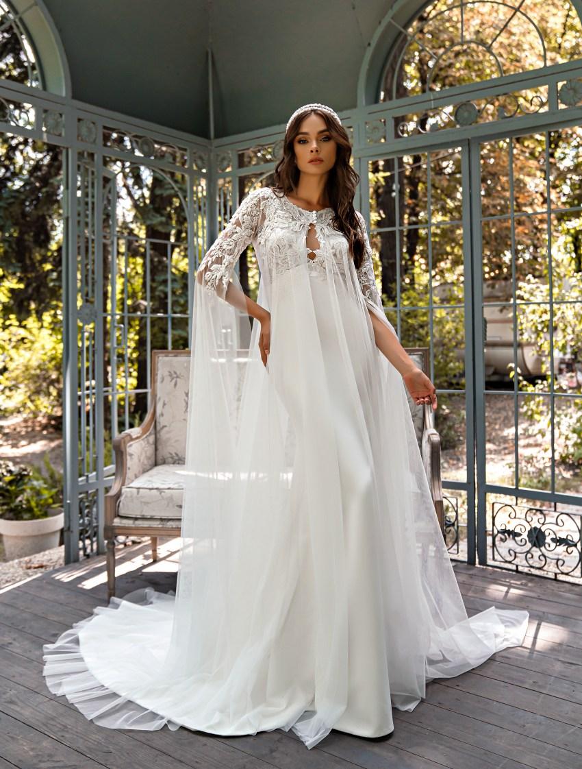 Rochie de mireasă stil sirenă-6