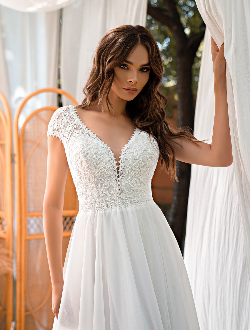 Весільна сукня в стилі «бохо»-6