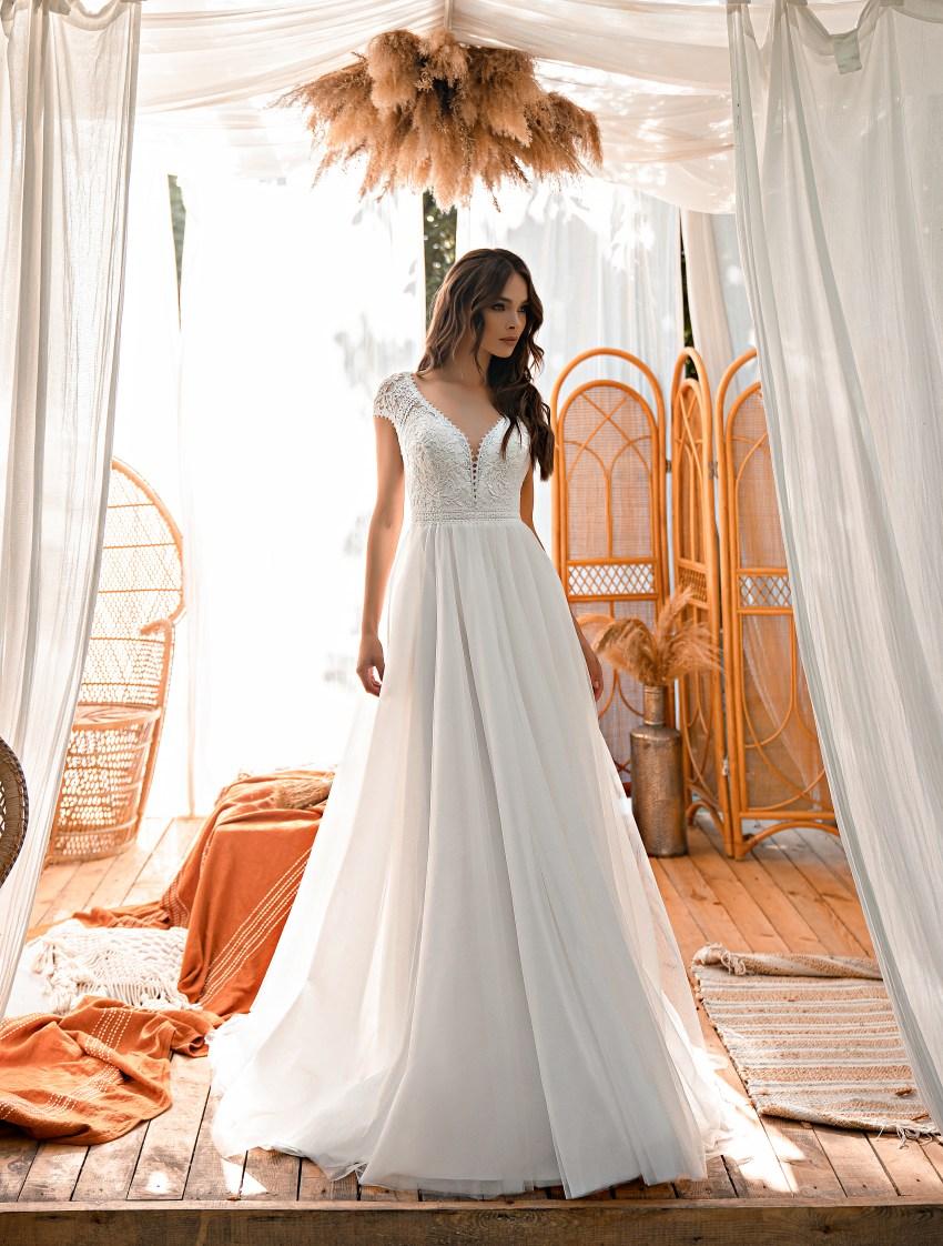 Свадебное платье в стиле «бохо»-4