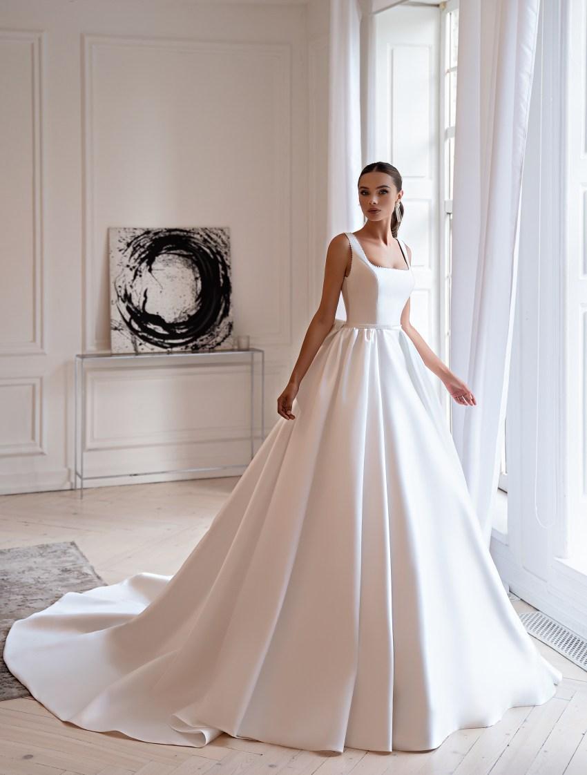 Свадебное платье в стиле «минимализм»-5
