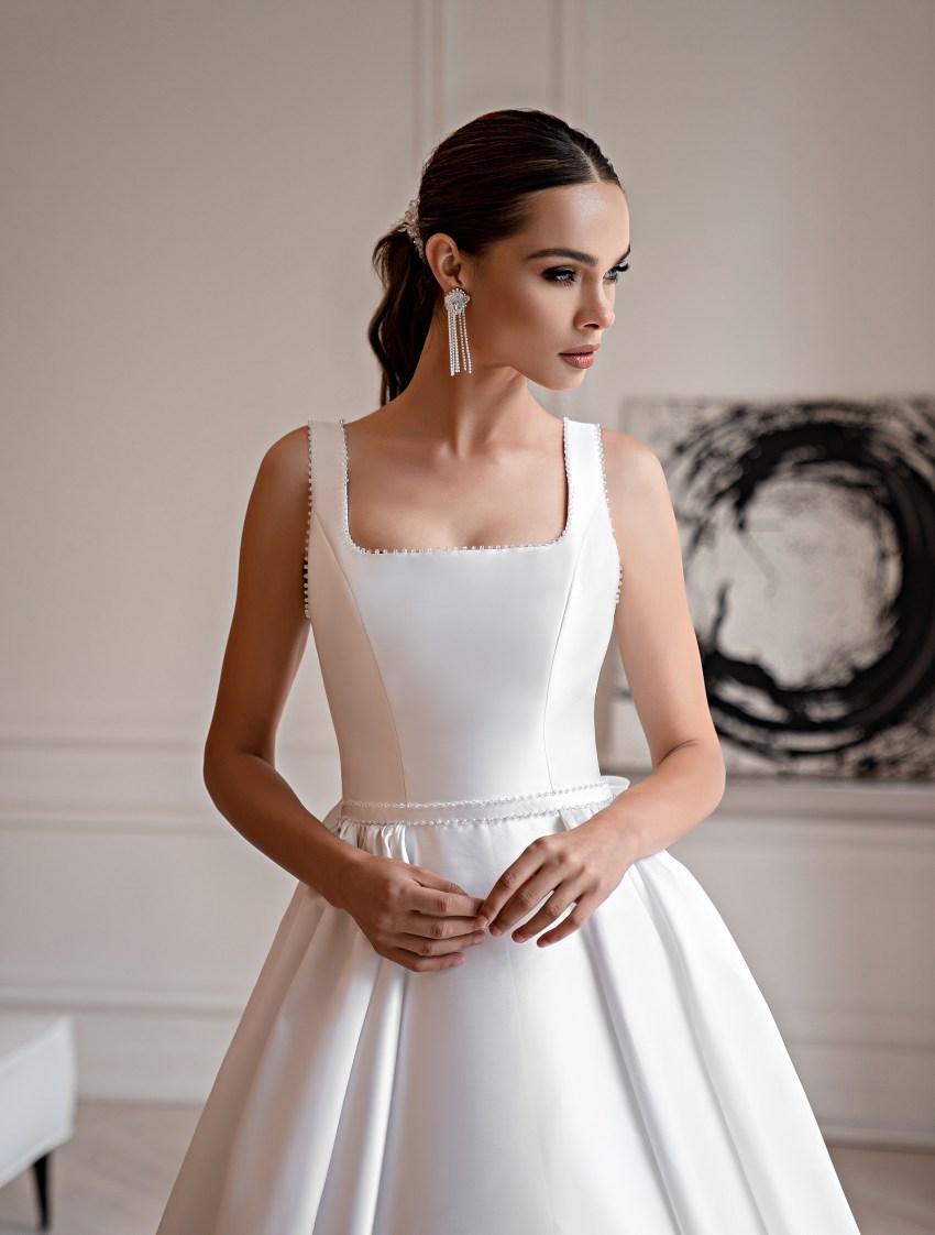 Свадебное платье в стиле «минимализм»-7
