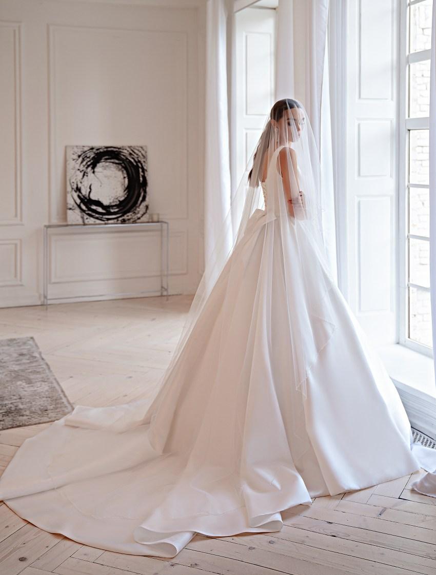 Свадебное платье в стиле «минимализм»-8