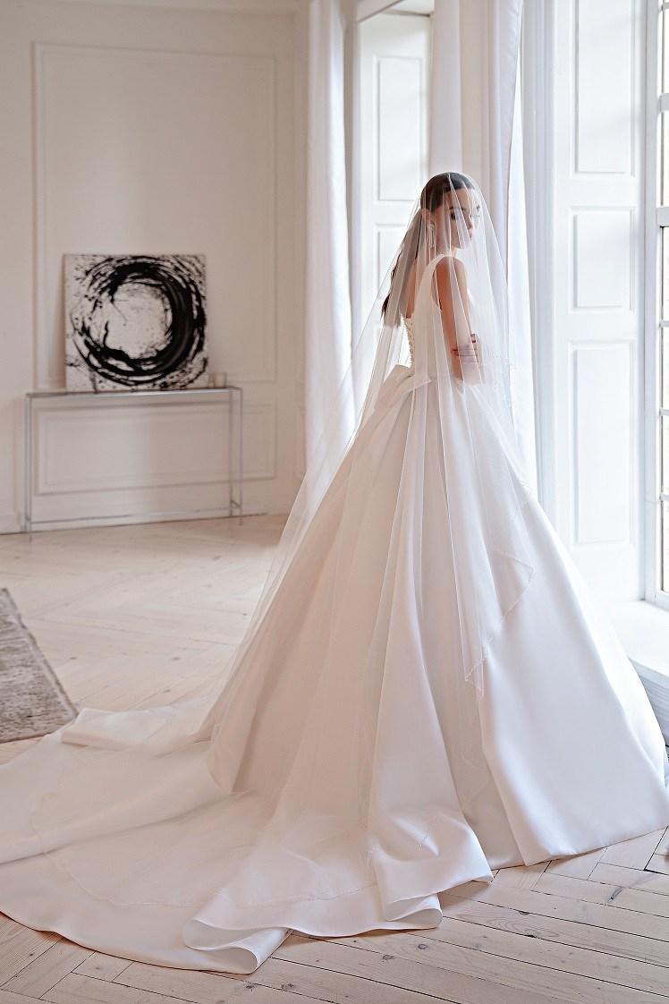 Свадебное платье в стиле «минимализм»-4