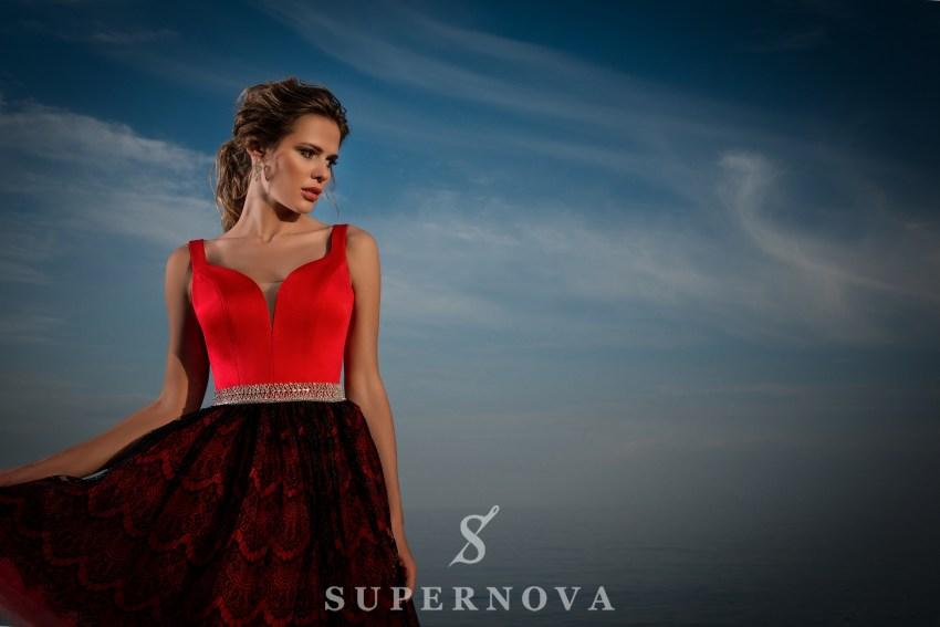 Вечернее короткое платье-5
