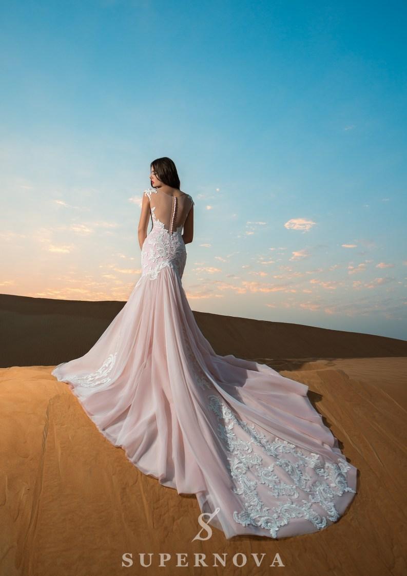 Rochie de mireasă cu cochetă-3
