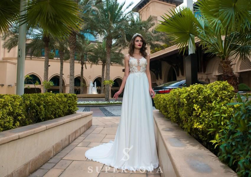 Весільна сукня з євросітки-1