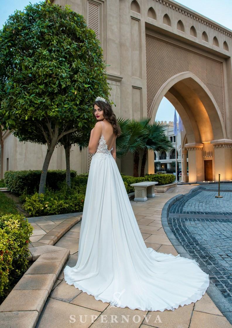 Весільна сукня з євросітки-3