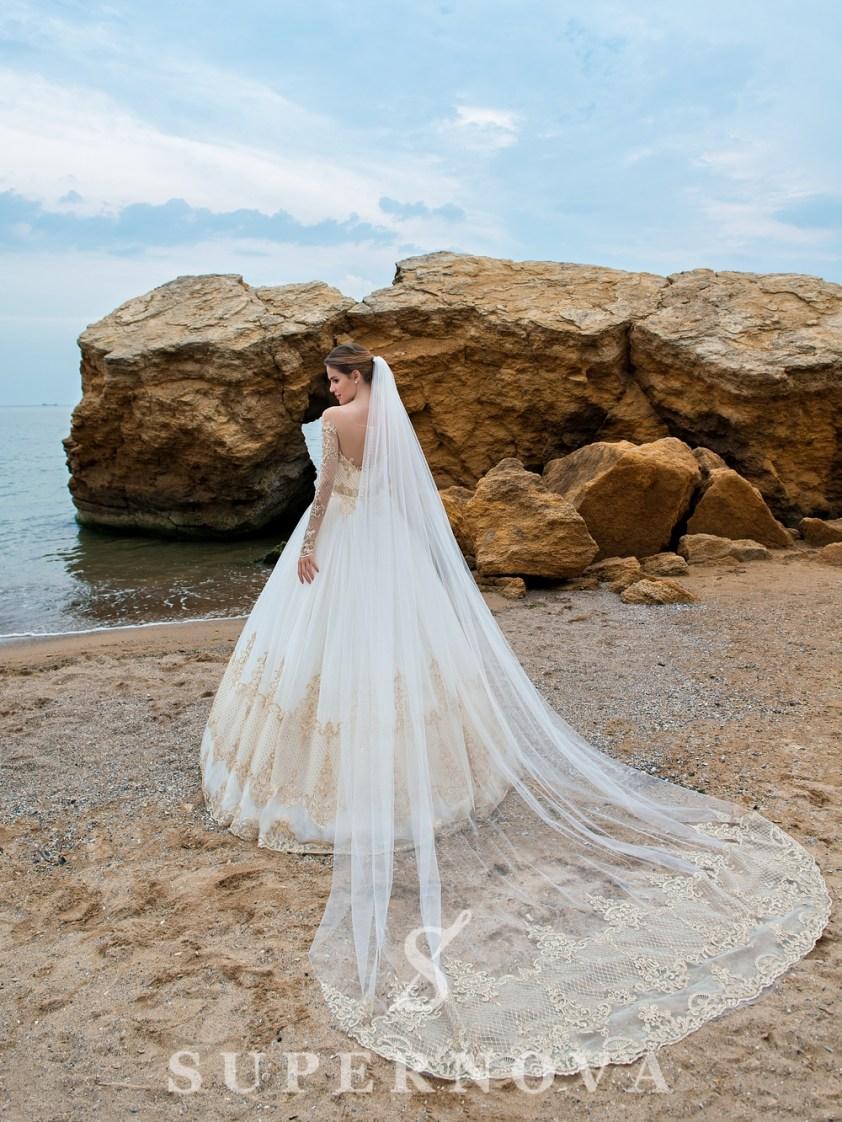 Весільна фата «купон» оптом-1