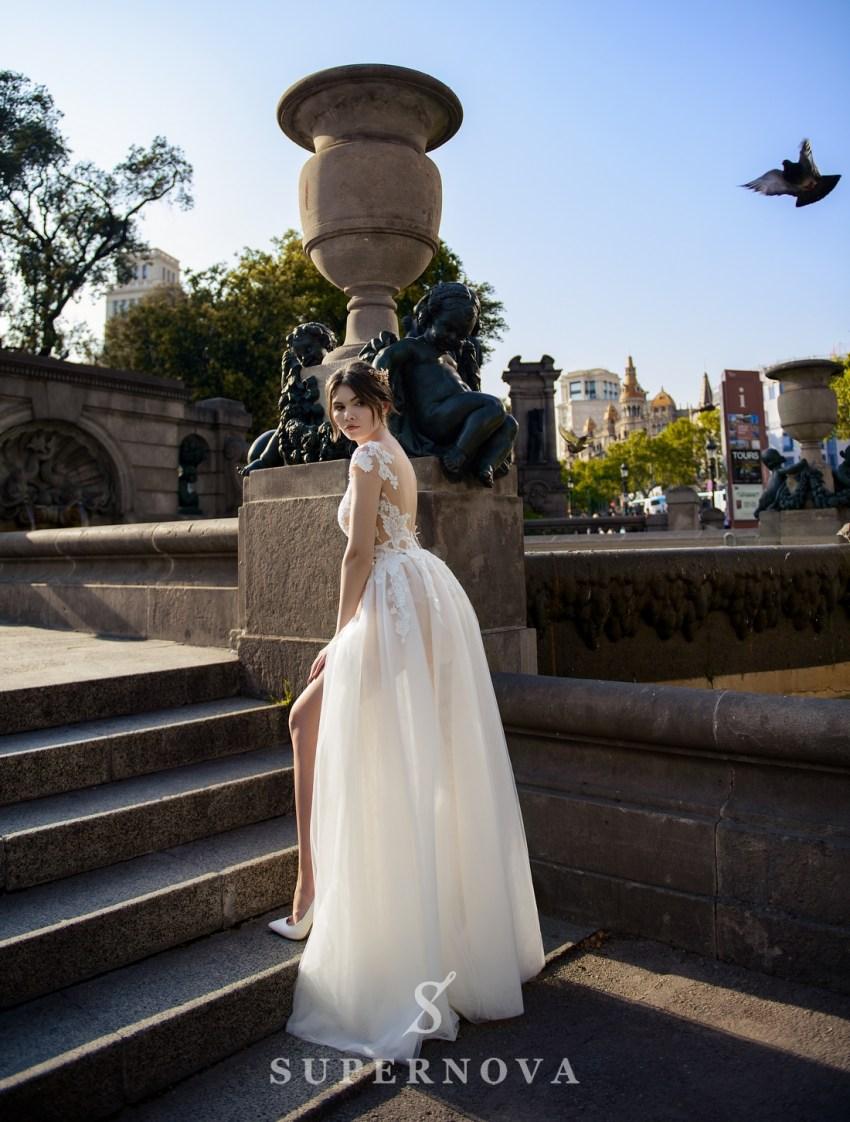 Light wedding dress from SurepNova wholesale-2