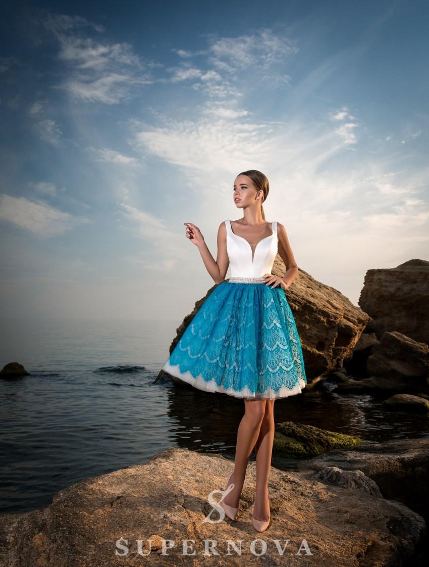 Evening short dress-2