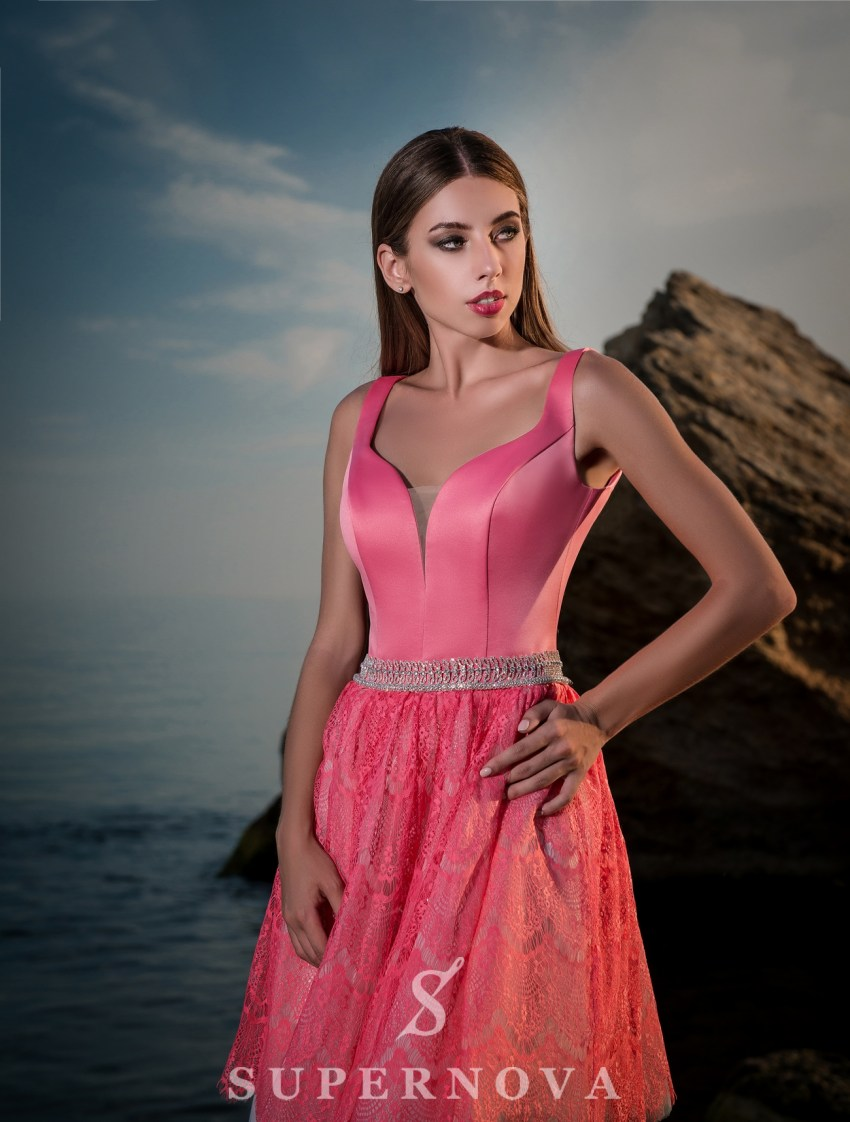 Evening short dress-3