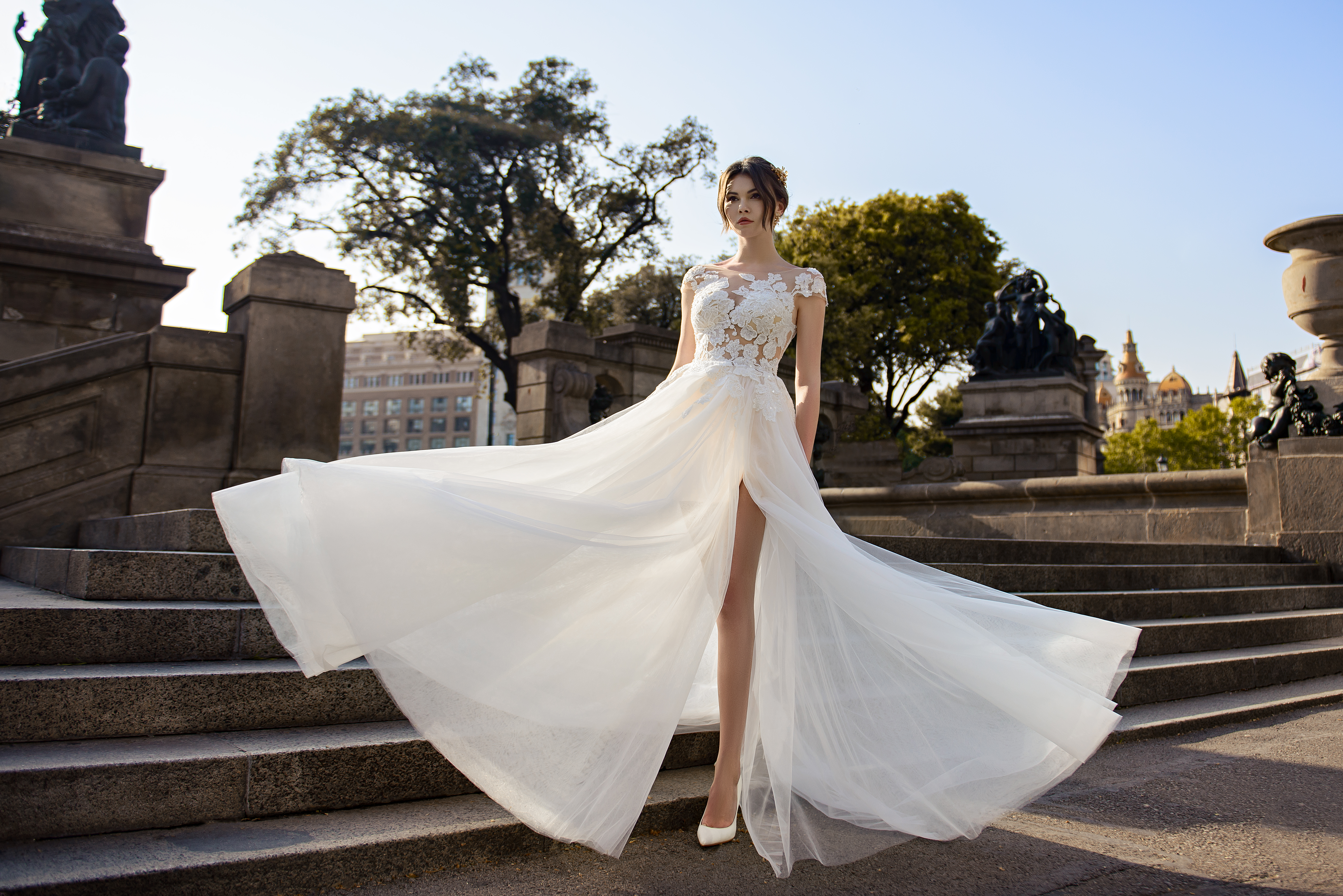 Light wedding dress from SurepNova wholesale-1