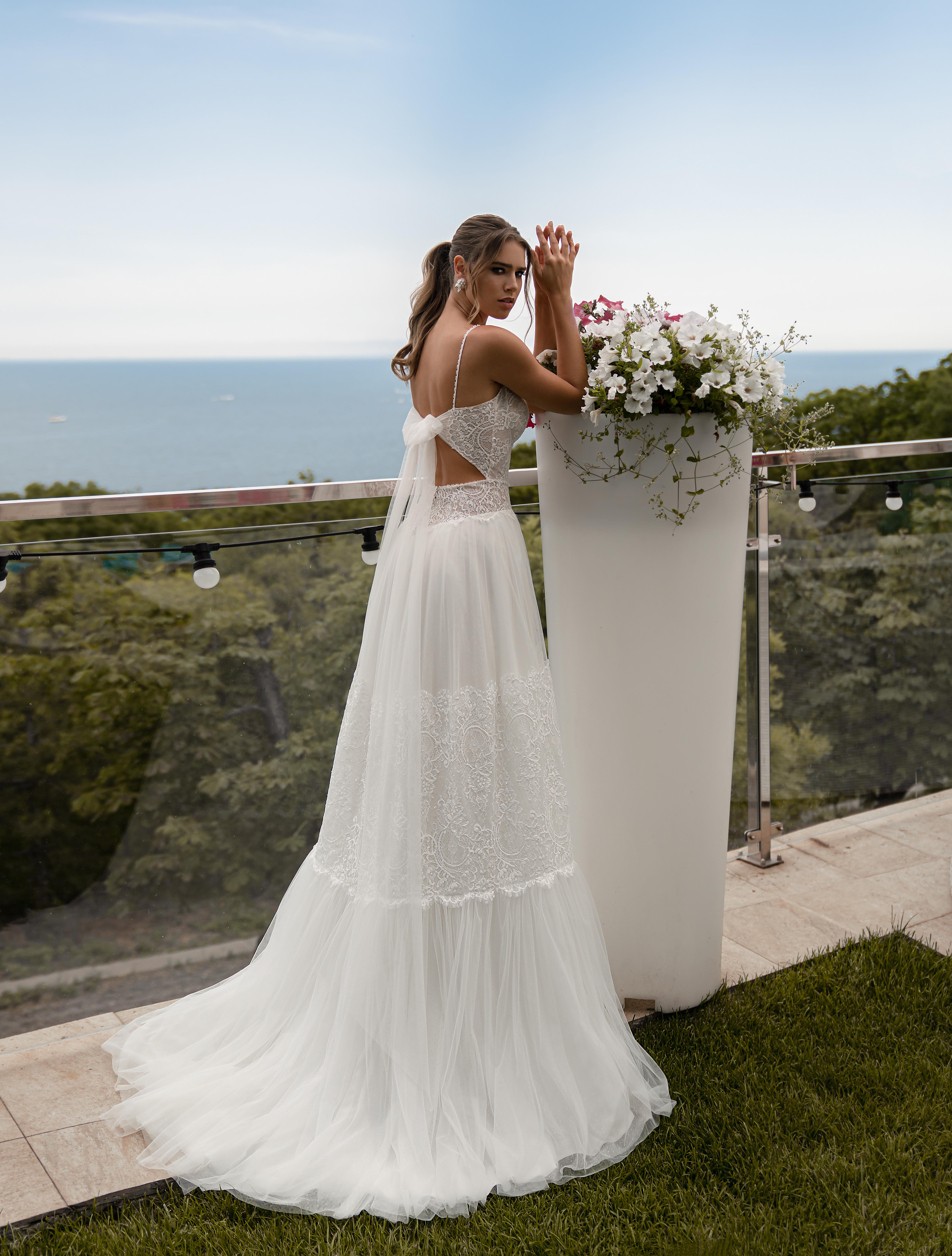 Свадебно платье в стиле бохо от Supernova-1