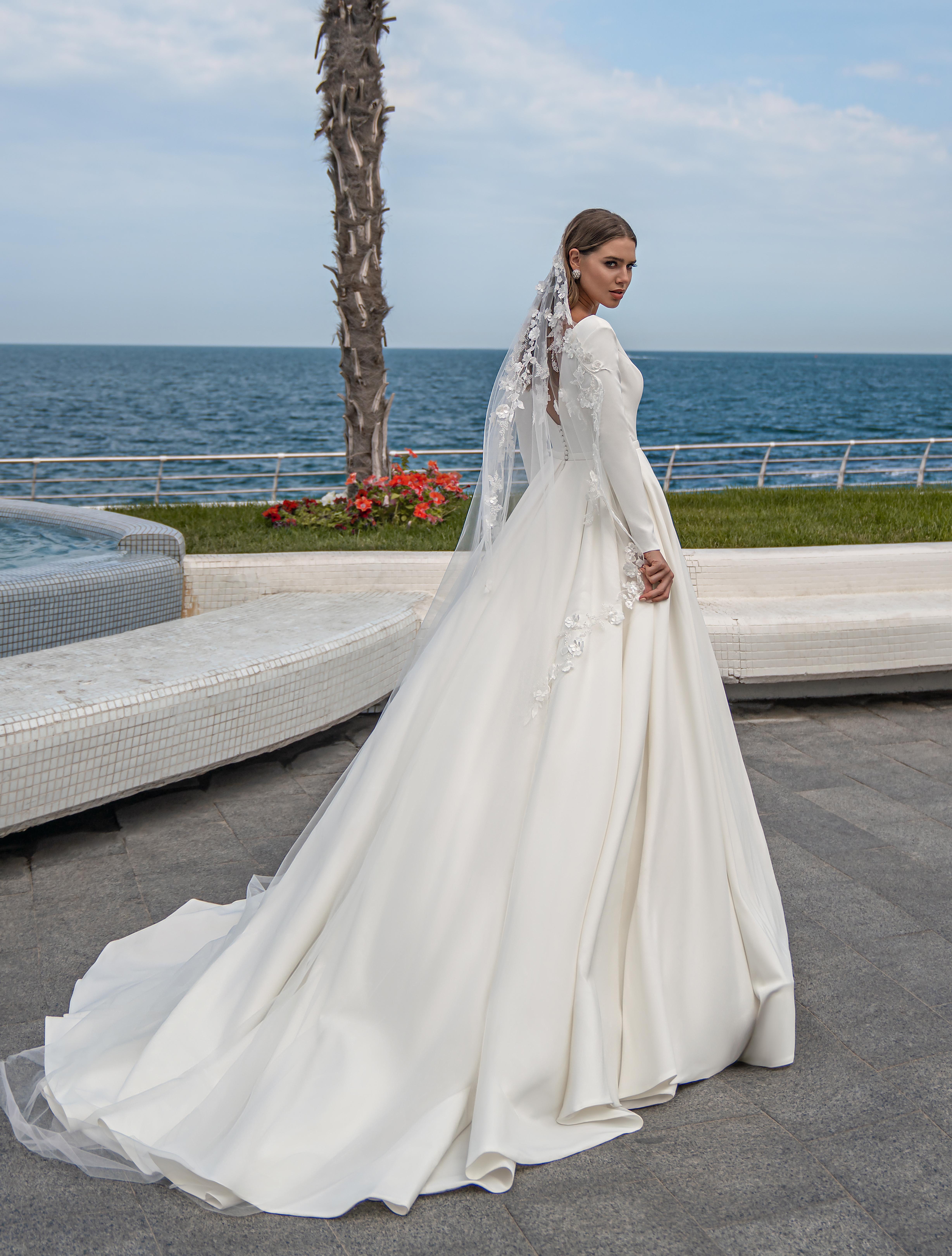 Fashion mantilla veil on wholesale:photo, catalog, prices-1