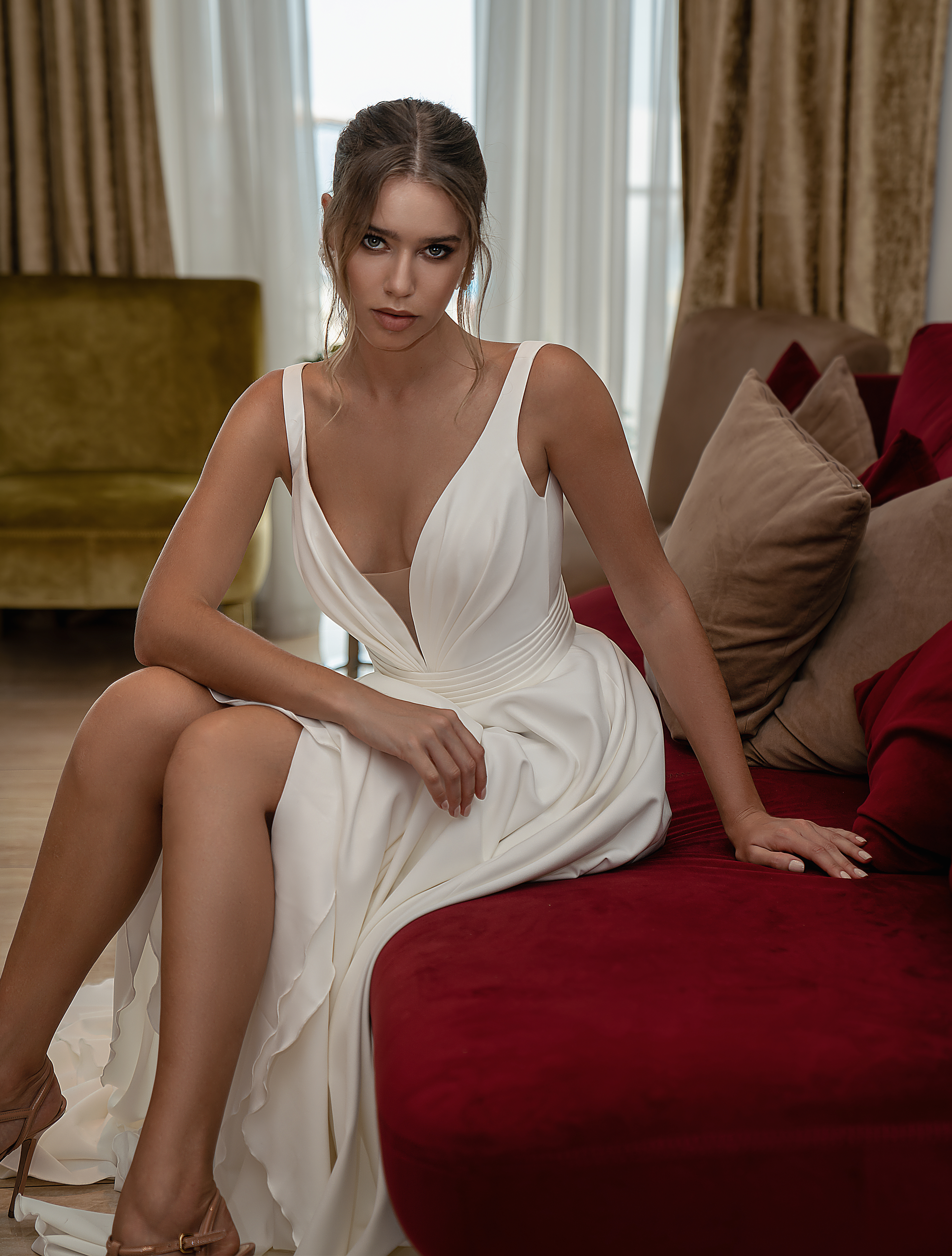 Wedding dress with straps from Supernova-1