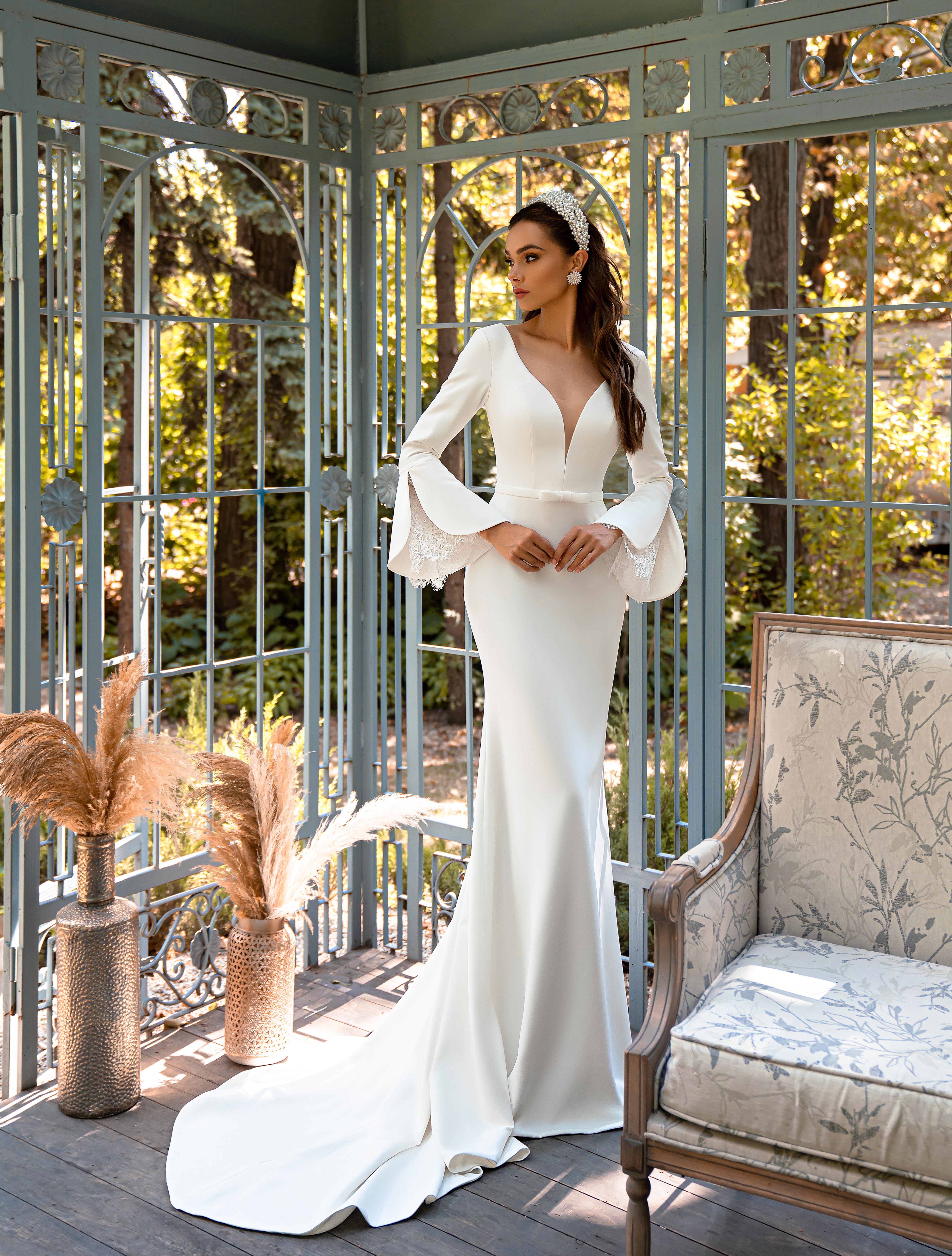 Bесільна сукня в стилі «мінімалізм»-1