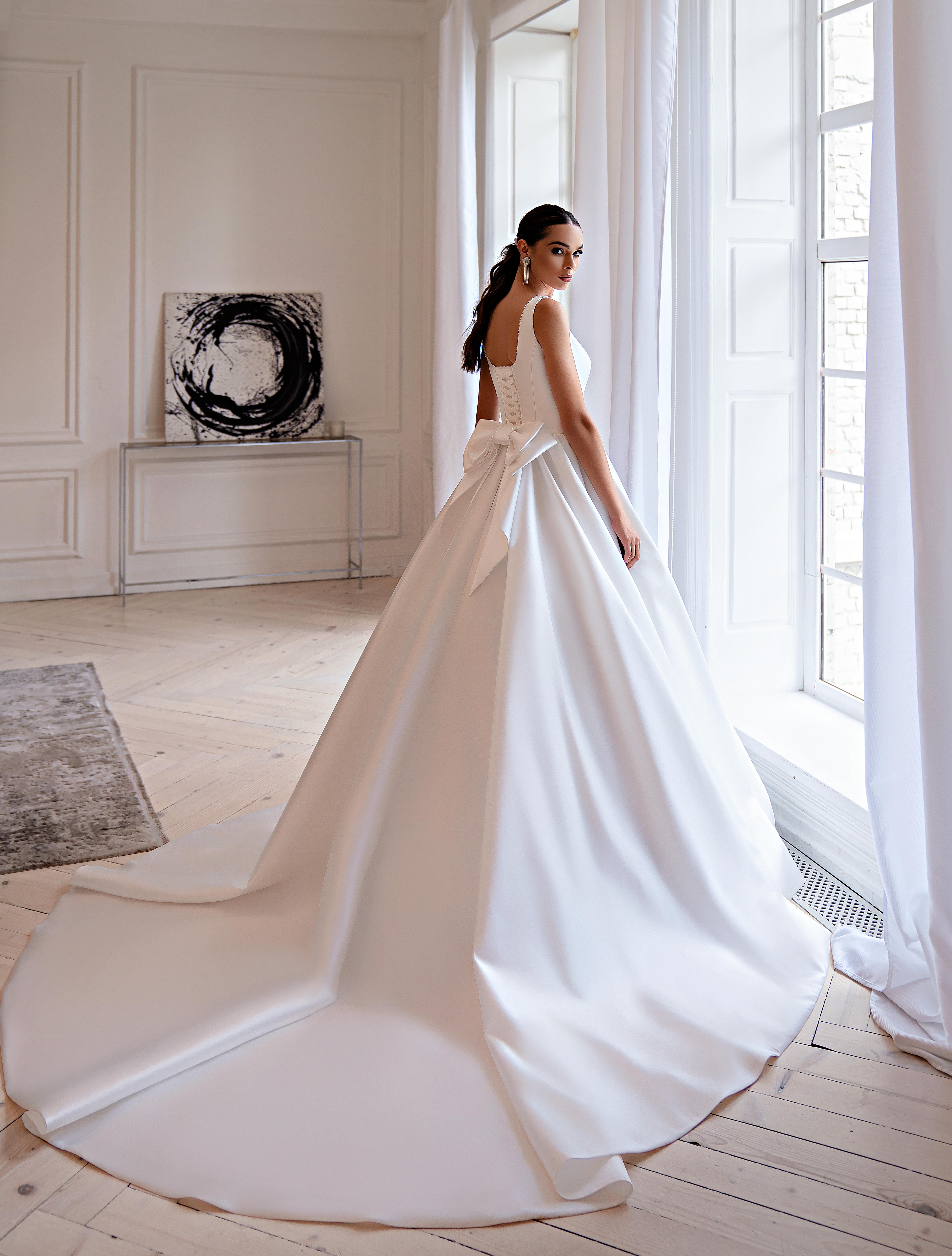 Свадебное платье в стиле «минимализм»-1